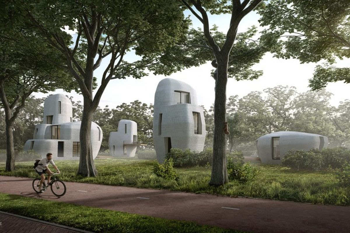 The Netherlands 3D Printed Home Community