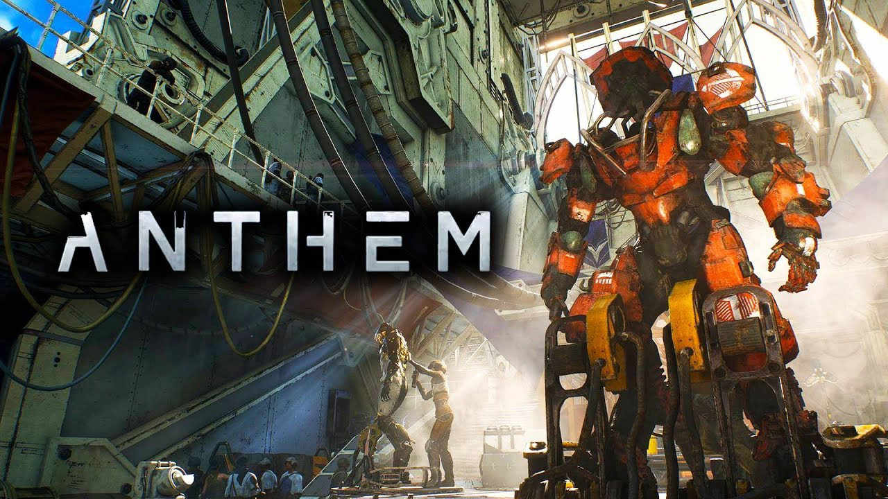 Anthem, EA's new flagship IP Action-RPG about a bold few who leave civilization behind to explore unknown worlds.