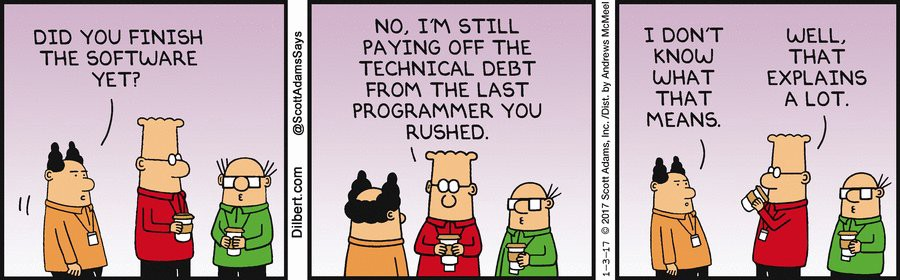 Technical Debt, and how it should influence your business choices