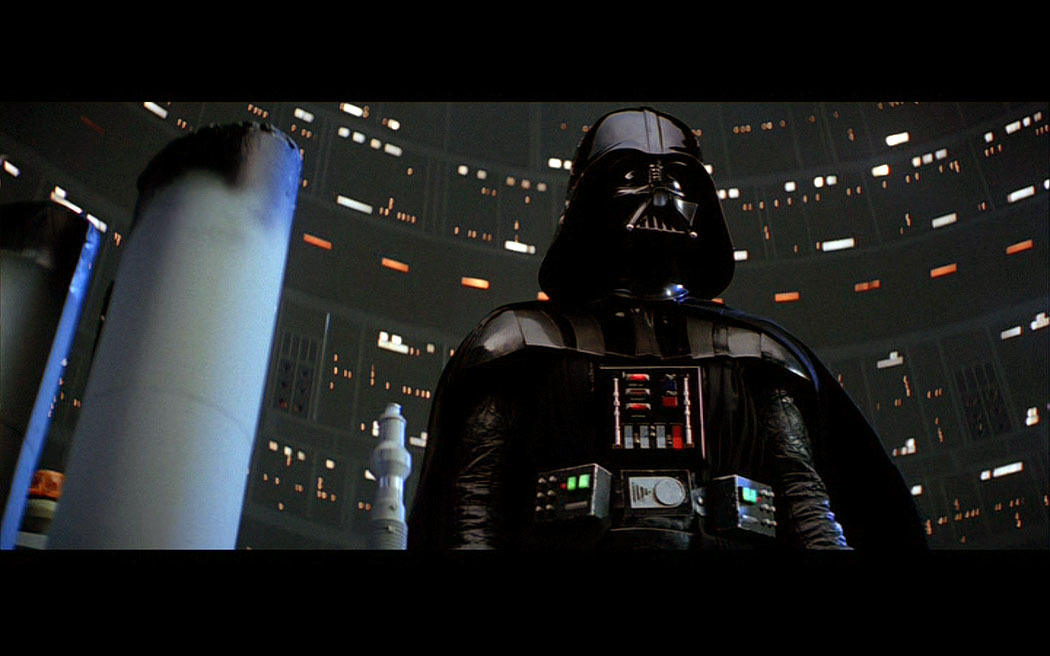 Low Angle Shot of Darth Vader