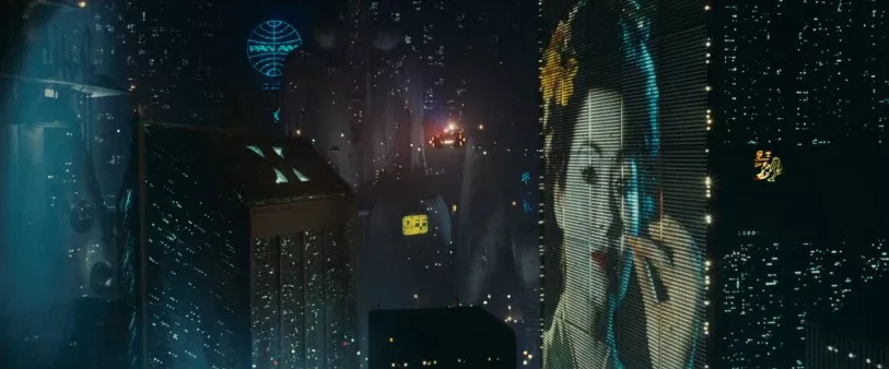 Long Shot in Blade Runner