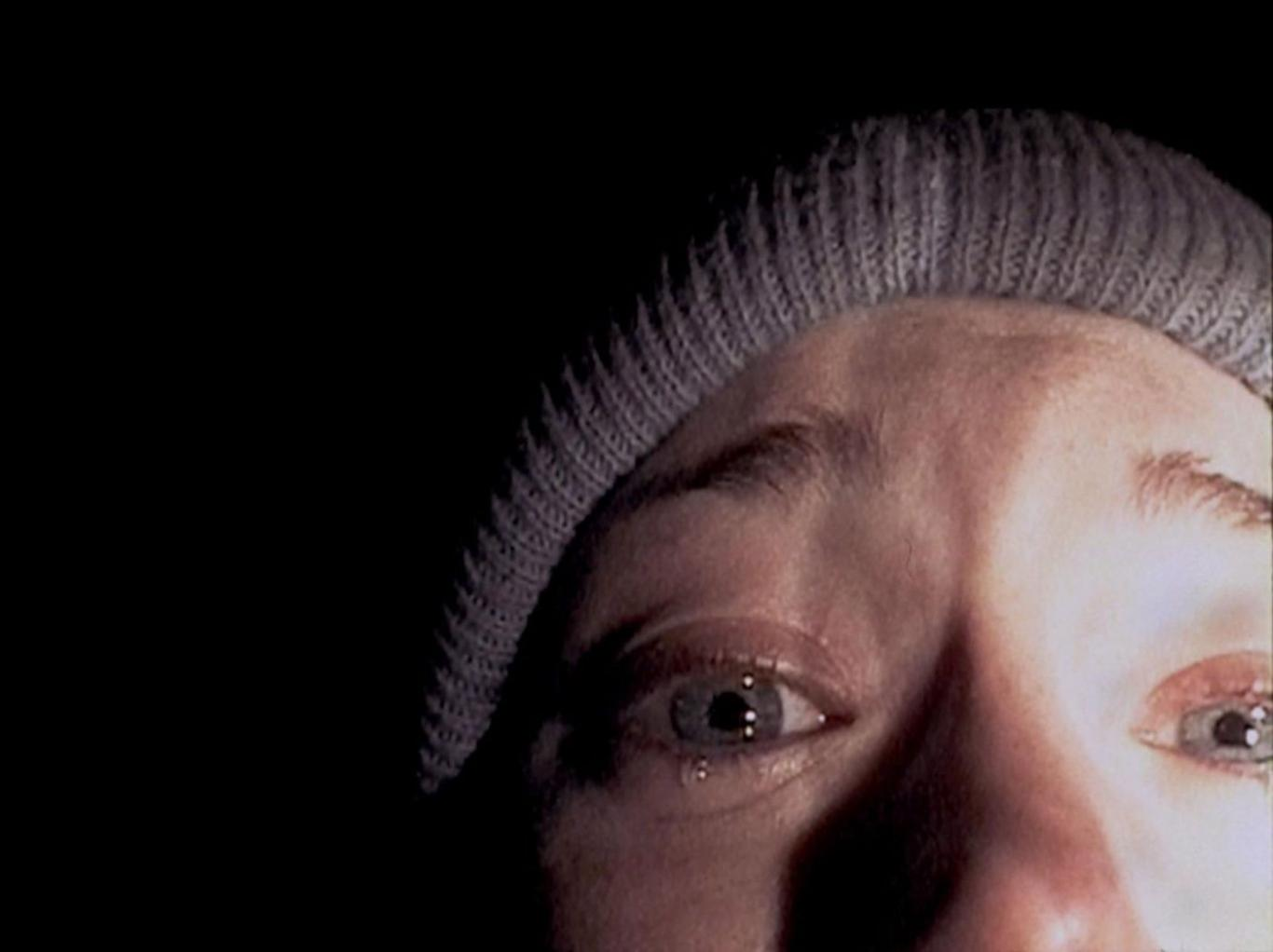 Close-up in The Blair Witch Project