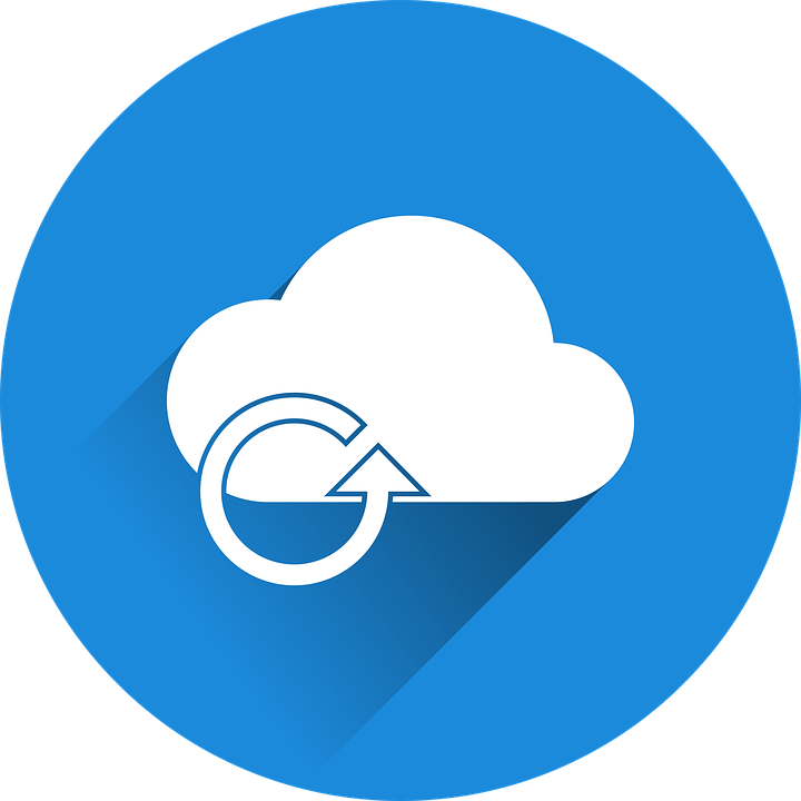 An icon representing the internet cloud with a loop icon over it.