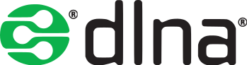 The Registered Logo for the DLNA
