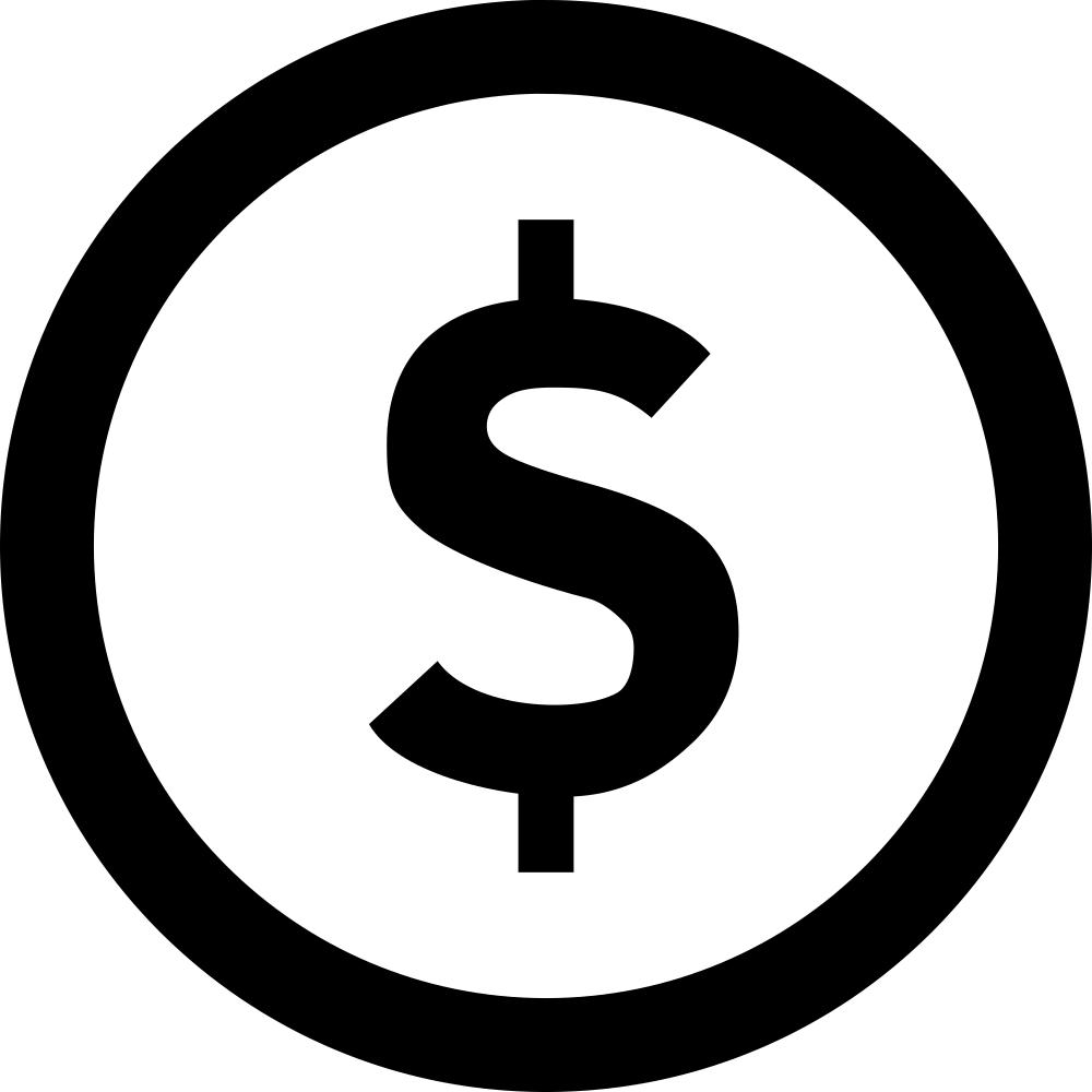 Dollar Sign inside a Circle
