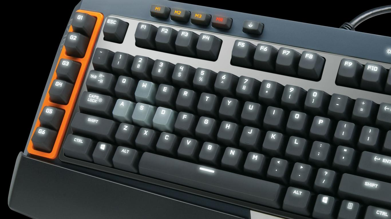 G710+ Keyboard Design