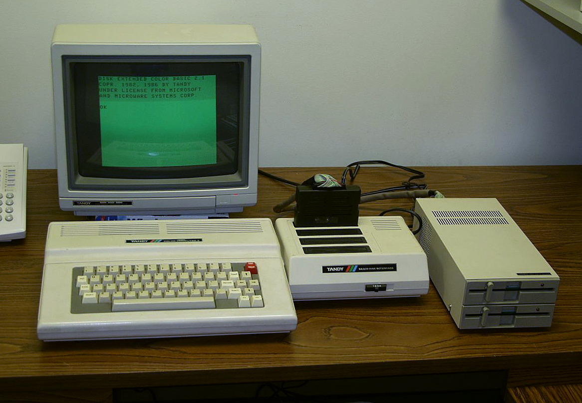 Tandy 3 Computer from 1980.