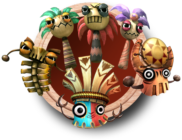 The Tiki Tak Tribe, a big difference to the normal Kremlings the Kongs are used to facing.