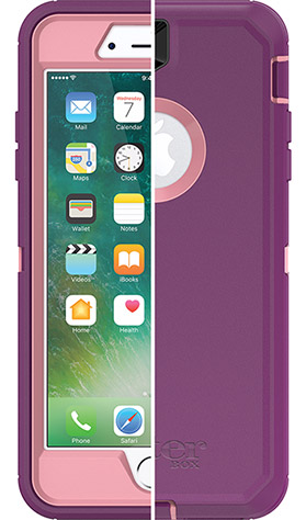 The OtterBox Defender Series Case, shown in the color Vinyasa.