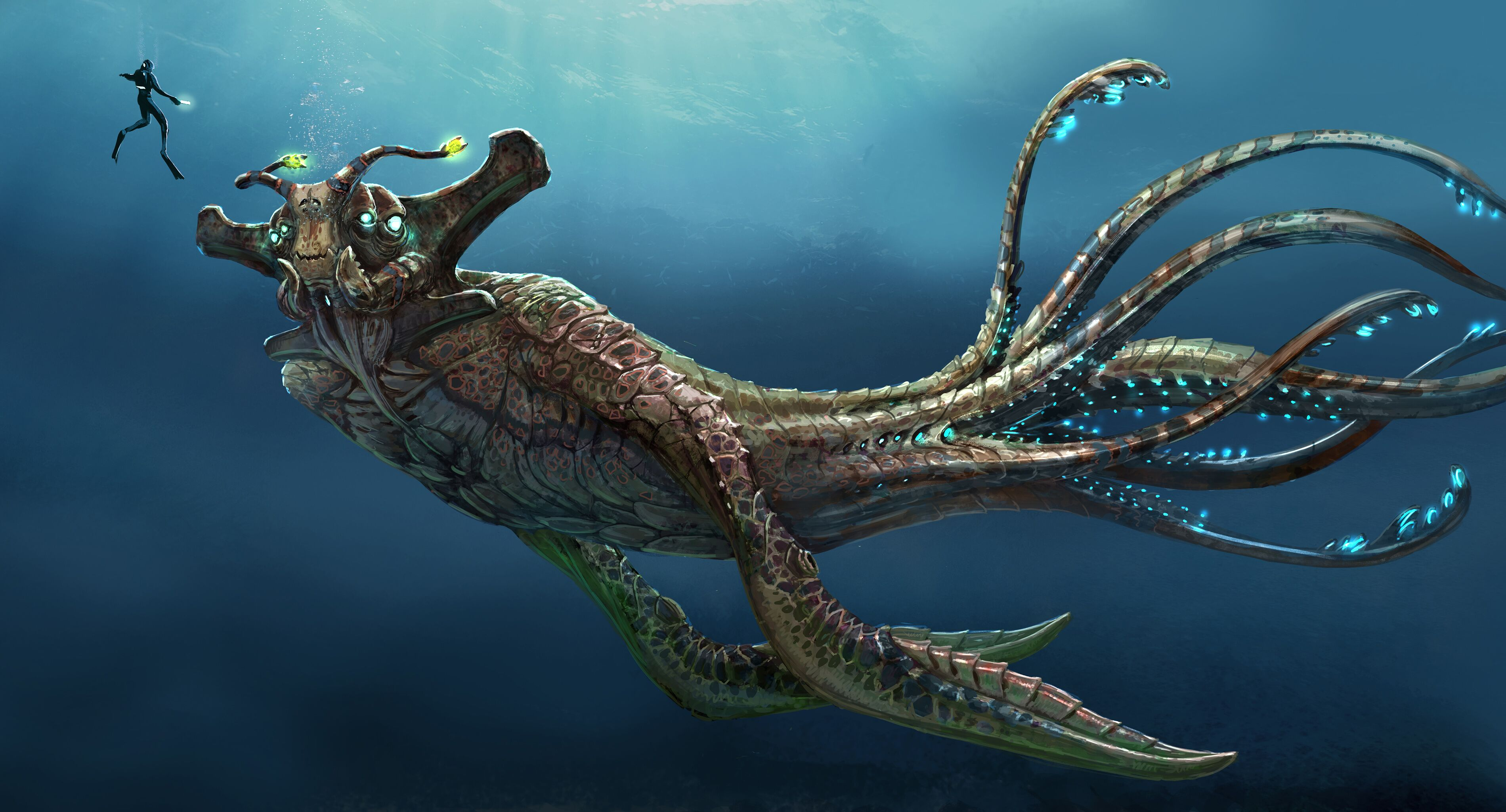 The Sea Emperor Leviathan—the final hope for eradicating the Kharaa virus and making it home.